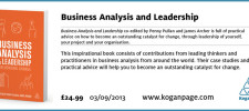 Business Analysis and Leadership signature 2 for e-mail