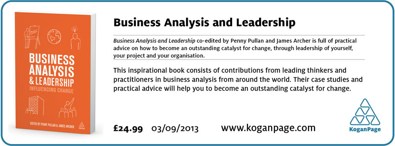 Business Analysis and Leadership E-mail Footer